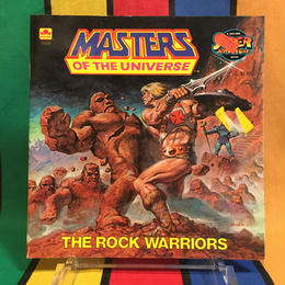 MOTU Storybook The Rock Warriors/マスターズオブザユニバース 絵本 ザ ロック ウォリアー/160314-4