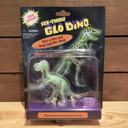 SEE-THRU GLO DINO Tyrannosaurus Figure/シースルー・グローダイノ ティラノサウルス フィギュア/180610-4