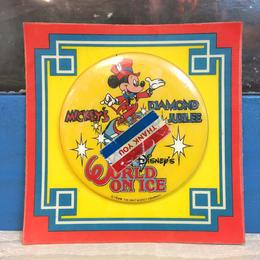 Disney Disney's World On Ice Button/ディズニー ワールドオンアイス 缶バッジ/171013-15