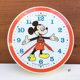 Disney Mikey Mouse Wall Clock/ディズニー ミッキーマウス 壁掛け時計/180114-12