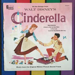 Disney Cinderella Record/ ディズニー シンデレラ レコードブック/160722-8