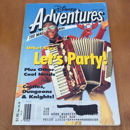 Disney Disney Adventures 1992 June/ディズニー ディズニーアドベンチャー 1992年 6月号/170909-2