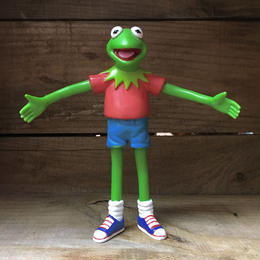THE MUPPETS Kermit Bendable Figure/マペッツ カーミット ベンダブルフィギュア/181001-20