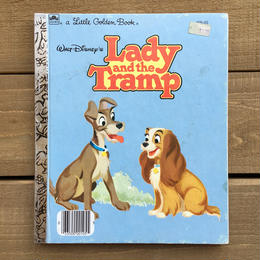 Disney Lady and the Tramp/ディズニー わんわん物語 絵本/170324-4
