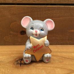 Christmas Mouse Figurine/クリスマスマウス 置物/180208-10