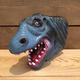 DINOSAUR T-Rex Rubber Hand Puppet/恐竜 ティラノサウルス ラバーハンドパペット/18711-1