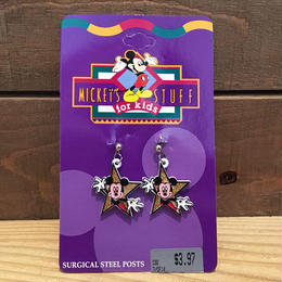 Disney Mickey Mouse Steel Posts/ディズニー ミッキー・マウス ピアス/180723-13