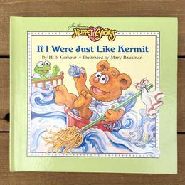 THE MUPPETS If I Were Just Like Kermit/ ザ・マペッツ ベイビー・フォジー 絵本/170524-7