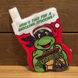 TURTLES Christmas Socks Ornament/タートルズ クリスマスソックス オーナメント/181009-8