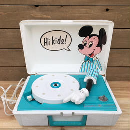 Disney Mickey Mouse Record Player/ディズニー ミッキー・マウス レコードプレイヤー/170405-1