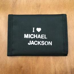 MICHAEL JACKSON Wallet Black/マイケル・ジャクソン お財布 ブラック/170911-1