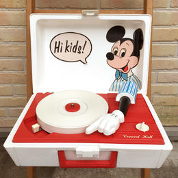 Disney Mickey Mouse Record Player/ディズニー ミッキー・マウス レコードプレイヤー/170724-4