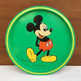 Disney Mickey Mouse Metal Tray/ディズニー ミッキー・マウス メタルトレイ/180304-5