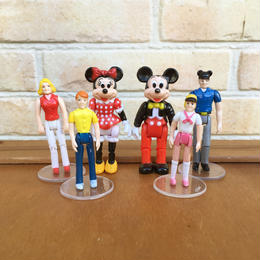 Disney Town Square Friends Mickey&Family Set/ディズニー タウンスクエアフレンズ ミッキー&ファミリーセット/171116-15