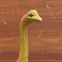 Brachiosaurus Rubber Toy/ブラキオサウルス ラバートイ/180126-7