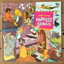 Disney Walt Disney Happiest Songs Record/ ディズニー ウォルトディズニーハピエストソングス レコード/170405-4