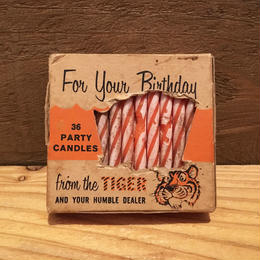 Esso Tiger Birthday Candles/エッソ タイガー バースデーキャンドル/1806015-2