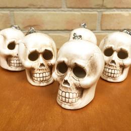 Skull Pencil Sharpener Key Chain/骸骨えんぴつ削り キーホルダー(バラ売り)/171111-2