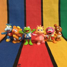 MUPPET BABIES Muppet Babies PVC Figure Set/マペットベイビーズ PVCフィギュアセット/161004-15