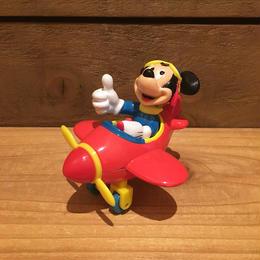 Disney Mickey Mouse Diecast Airplane/ディズニー ミッキー・マウス ダイキャスト飛行機/180117-5