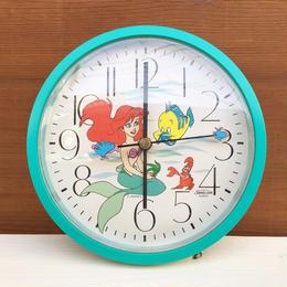 THE LITTLE MERMAID Wall Clock/リトルマーメイド ウォールクロック/180217-6