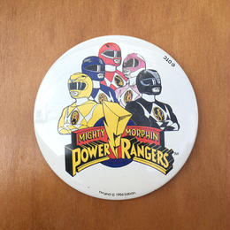 POWER RANGERS Button/パワーレンジャー 缶バッジ/170819-5