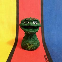 SESAME STREET Oscar Finger Puppet/セサミストリート オスカー 指人形/160829-5