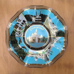Disney Disneyland Glass Dish/ディズニー ディズニーランド ガラス皿/171008-6