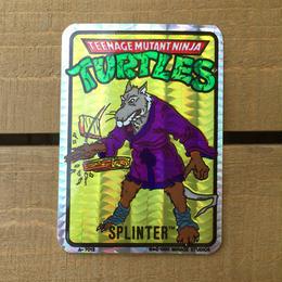 TURTLES Card Sticker/タートルズ ステッカー/170618-16