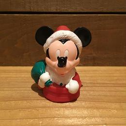 Disney Santa Mickey Mouse Figure/ディズニー サンタ ミッキーマウス フィギュア/181005-7