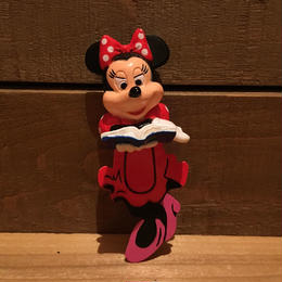Disney Minnie Mouse Figure Book Marker/ディズニー ミニーマウス フィギュアブックマーカー/181005-17