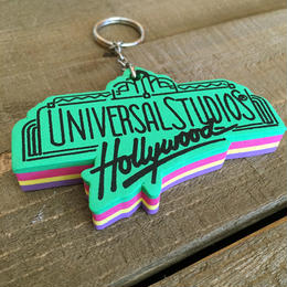 UNIVERSAL STUDIOS Logo Key chain/ユニバーサルスタジオ ロゴ キーホルダー/170213-10