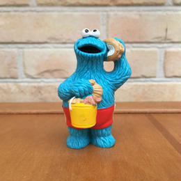 SESAME STREET Cookie Monster PVC Figure/セサミストリート クッキーモンスター PVCフィギュア/170719-8