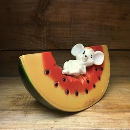 Mouse Plastic Bank/ネズミ プラスチックバンク/180917-5