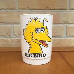 SESAME STREET Big Bird Plastic Cup/セサミストリート ビッグバード プラスチックカップ/170719-1