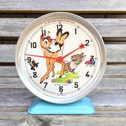 BAMBI Metal Clock/バンビ 鉄製 時計/180625-8