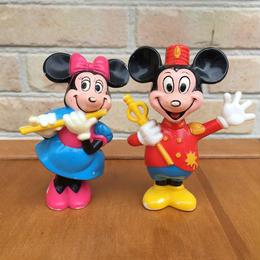 Disney Mickey&Minnie Figure/ディズニー ミッキー & ミニー フィギュア/170730-2