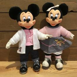 Disney Mickey & Minnie Doll Set/ディズニー ミッキー & ミニー ドールセット/180728-9