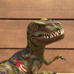 JURASSIC PARKⅢ Re-ak A-tak  T-Rex Figure/ジュラシックパーク 3 リアーク・アタック ティラノサウルス フィギュア/180626-5
