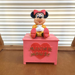 Disney Minnie Mouse Bank/ディズニー ミニー・マウス バンク/171209-6