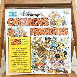 Disney Children's Favorites Vol.1 Record/ディズニー チルドレンズフェイバリット Vol.1 レコード/171110-4
