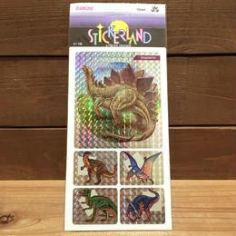 DINOSAUR Sticker/恐竜 ステッカー/181018-10