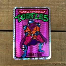 TURTLES Card Sticker/タートルズ ステッカー/170618-15