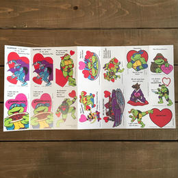 TURTLES Valentine Card/タートルズ バレンタインカード ばら売り/170118-13