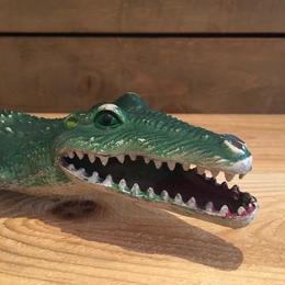 Crocodile Rubber Toy/ワニ ラバートイ/180123-2