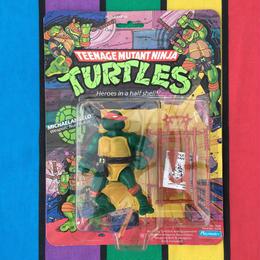 TURTLES Michaelangelo Soft Head/タートルズ ミケランジェロ ソフトヘッド フィギュア/160827-1