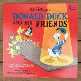 Disney Donald Duck And His Friends/ディズニー ドナルド・ダック アンド ヒズ フレンズ レコード/170515-7