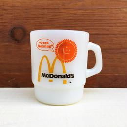 McDonald's Fire King Stacking Mug/マクドナルド ファイヤーキング スタッキングマグ/180112-10c