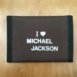MICHAEL JACKSON Wallet Blown/マイケル・ジャクソン お財布 ブラウン/170911-2
