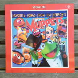 Favorite Songs From Jim Henson's Muppets Vol.1 Record/フェイバリットソング・フロム・ジムヘンソン マペッツ Vol.1 レコード/180607-6